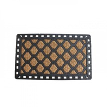 Diamond Welcome Mat With Rubber Border - $24.43