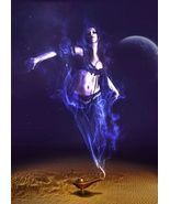 Haunted Amulet Purple Flame Djinn Pure Spiritual Power Unlimited Wish Ma... - $460.00