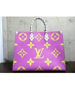 Louis Vuitton ONTHEGO Tote Giant Pink Monogram bag 2019 ON THE GO M44570 - $5,435.10