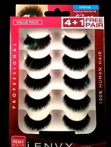 I ENVY BY KISS EYELASHES JUICY MULTI PACK 38 KPEM38 VALUE PACK HUMAN HAI... - $10.88