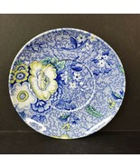 Spode Blue Chintz Porcelain Saucer Made in England - $8.99