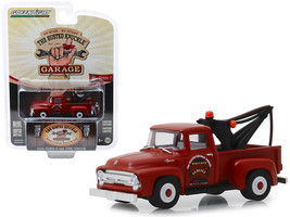 """1956 Ford F-100 Tow Truck Red \""""Wrecker Service\"""" \""""Busted Knuckle Garag... - $13.24"""
