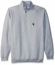 Ouray Sportswear NCAA Michigan State Spartans Men's 1/4 Zip Sweatshirt F... - $35.32