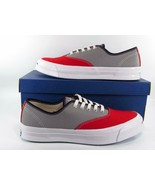 Converse Jack Purcell Signature Series CVO Ox Two-Tone RED/GRAY 151456C ... - $55.00
