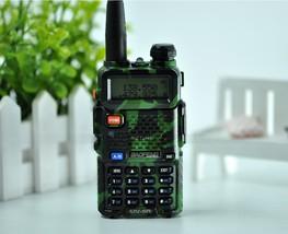 Baofeng uv-5r cb comouflage radio transciver 5w handheld hunting walkie talkie image 5