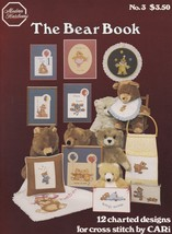 The Bear Book by Cari, Modern Heirlooms Cross Stitch Pattern Book 3 OOP  - $3.95