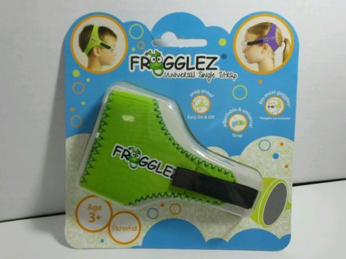 Frogglez Universal Single Strap for Goggles - Green Age 3+ Made By My Dad LLC