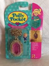 vintage Polly Pocket Pretty Polly Locket Necklace NEW & SEALED MOC 1994 ... - $179.99