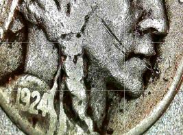 Buffalo Nickel 1924, 1924 and 1924 D AA20BN-CN6082 image 1