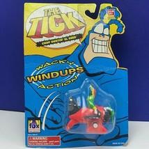 The Tick action figure mini Bandai 1994 Fox moc retro Wacky Windup El Seed plane - $33.71