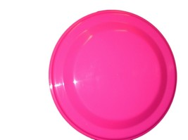 12 Flyers Pink  9 Inch Dia. Made in America Non Toxic Lead Free Food Sale - $40.91