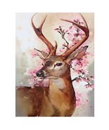 Blxecky 5D DIY Diamond Painting By Number Kits,Happy deer16X20inch/40X50CM - $14.24
