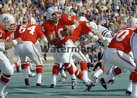 NFL 1971 New England Patriots Jim Plunkett  Game Action Color 8 X 10 Photo Pic - $5.99