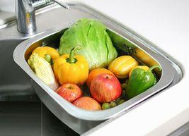 Silicook Stainless Steel Basin Dishpan Dish Washing Bowl Bucket Basket (Hole) image 4