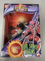 Bandai Mighty Morphin Power Rangers Deluxe Evil Space Aliens Pirantis Head 1994 - $23.83