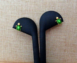 Tiny Little Turtle Post Earrings Child or Adult - $6.65