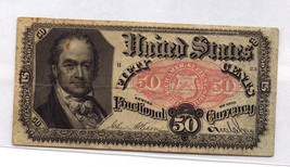 1875 50 CENTS FRACTIONAL CURRENCY - $69.30