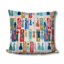 Vintage Sewing Pillow - Simplicity Pattern - Gifts for Mom - Vintage Sewing Deco - $16.99