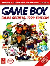 Game Boy Games Secrets, 1999 Edition: Prima's Official Strategy Guide Pr... - $10.93
