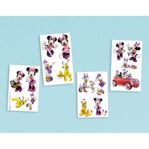 Minnie Mouse Clubhouse Disney Cute Kids Birthday Party Favor Temporary Tattoos - $9.17