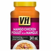 6 X VH  Indian Mango Curry Cooking Sauce LARGE Size 341ml /11.5oz- Canad... - $43.61