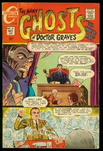 The Many Ghosts Of Doctor Graves #16 1969-CHARLTON COMICS-DITKO ART- Fn - $49.66
