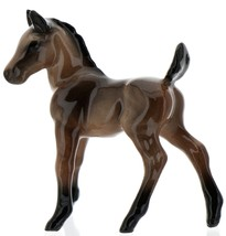 Hagen-Renaker Miniature Ceramic Horse Figurine Wild Mustang Colt Bay image 8