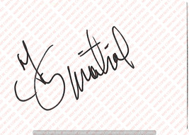 TAJ MAHALL VINTAGE GENUINE AUTOGRAPH ON CUT EDGE WHITE PAPER - $15.00