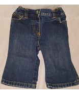 Blue Jeans Denim  Size 3 / 6 Months Girls Old Navy Pull On Baby - $9.99