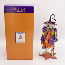"""Dept 56 Krinkles Raggedy Witch Halloween by Patience Brewster 12"""" Figure... - $64.95"""