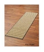 """Striped Extra Long Floor Runner 3 Lengths 60"""" 90"""" 120"""" Non Slip Backing ... - $14.98+"""