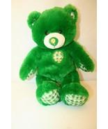 "Build a Bear Workshop St. Patrick's Day Irish Shamrock Green Teddy 17"" P... - $55.00"
