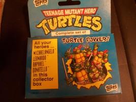1990 Topps Ireland Teenage Mutant Ninja Turtles Tmnt Sealed Complete 66 Card Set - $9.89