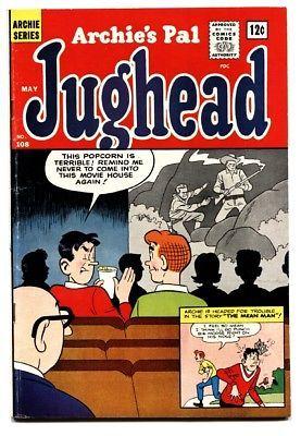 Archie's Pal Jughead #108 1964- Silver Age Teen Humor movie theater cvr