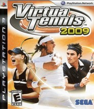 Virtua Tennis 2009 - PlayStation 3 - $10.99