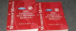 2007 OEM Set Ford Freestyle Five Hundred 500 Montego Service Shop Repair... - $49.61
