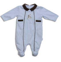 "Le Top Baby Boys ""Pony Named Spot "" Footed Sleeper - $29.00"
