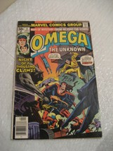 OMEGA THE UNKNOWN #4 marvel comics very fine condition 1976 - $5.99