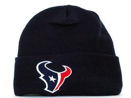 HOUSTON TEXANS REEBOK NFL CUFFED KNIT WINTER HAT WATCH CAP - $15.19
