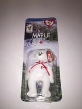 Maple The Bear -1996 McDonald's Ty Beanie Baby With Rare Errors 1993/OAKBROOK - $7.27