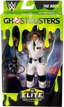 WWE Elite Series Ghostbusters The Rock Action Figure Mattel - $34.99