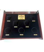 Jack Daniel's Gold Medal Wood Display Shadow Box Glass Topped Case NO Me... - $315.90