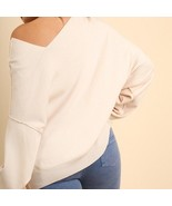 UMGEE DOLMAN SLEEVE SWEATER WITH ASYMMETRICAL NECKLINE  - $29.69