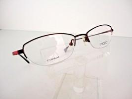 MODO TITANIUM Mod. 604 (PNK) Pink 50 x 17 140 mm Eyeglass Frames - $24.70