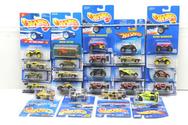 24 pc Hot Wheels Off Road 4X4V ehicle Die Cast Lot 1991-2004 Mattel Jeep++++NOC - $35.89