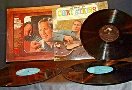 The Best of Chet Atkins and Chet Adkins Country Pickin' Records AA-191750 Vin