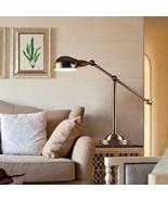 Rowan Pharmacy Task Table Lamp Antique Brass Desk Light Home Lighting Fi... - $153.51