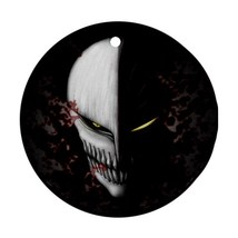Christmas Round Ornament - Anime Bleach Hollow Mask Round Procelain Orna... - $3.95