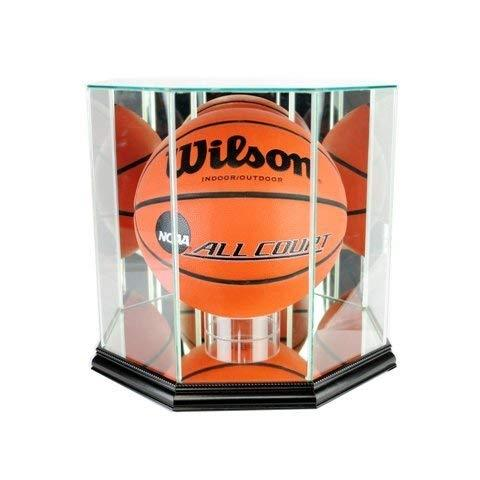 Perfect Cases BBO-B Octagon Basketball Display Case, Black