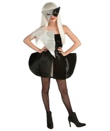 Licensed Lady Gaga Girl/Tween Black/Silver Sequin Polyester Costume//Mas... - $34.99